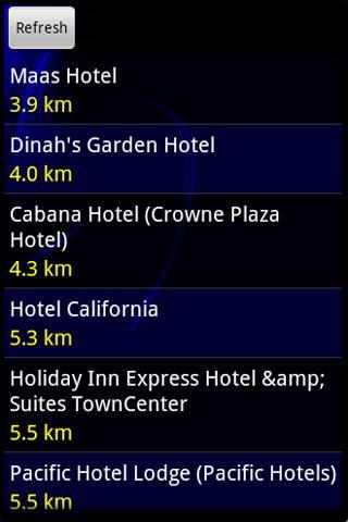 Nearest Place- screenshot