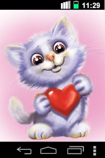 Funny Cute Cat Live Wallpaper