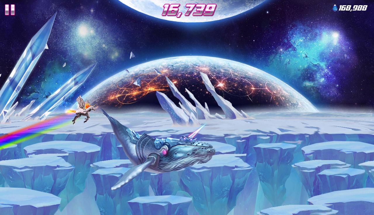 Robot Unicorn Attack 2 screenshot #18