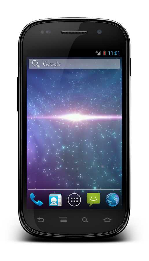 Galaxy 3D Wallpaper - screenshot