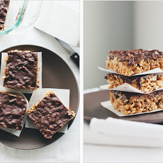 BROWN RICE CRISP TREATS.