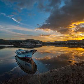 magic light by Enver Karanfil - Landscapes Sunsets & Sunrises ( sunset, nikon, izmir )