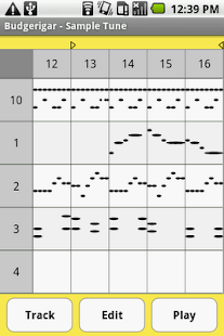 Budgerigar - Midi Sequencer - screenshot thumbnail
