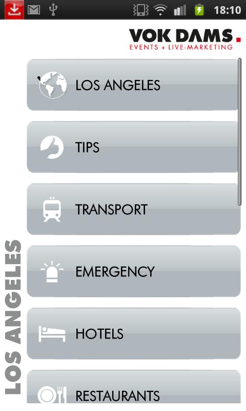 L.A.: VOK DAMS City Guide- screenshot