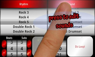 Screenshot of Acoustic Drum Machine Free