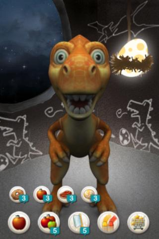 Talking dino, Chika- screenshot