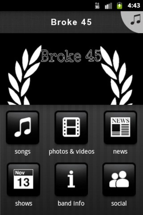 Broke 45 - screenshot