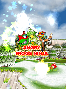 Angry Frogs Ninja- screenshot thumbnail