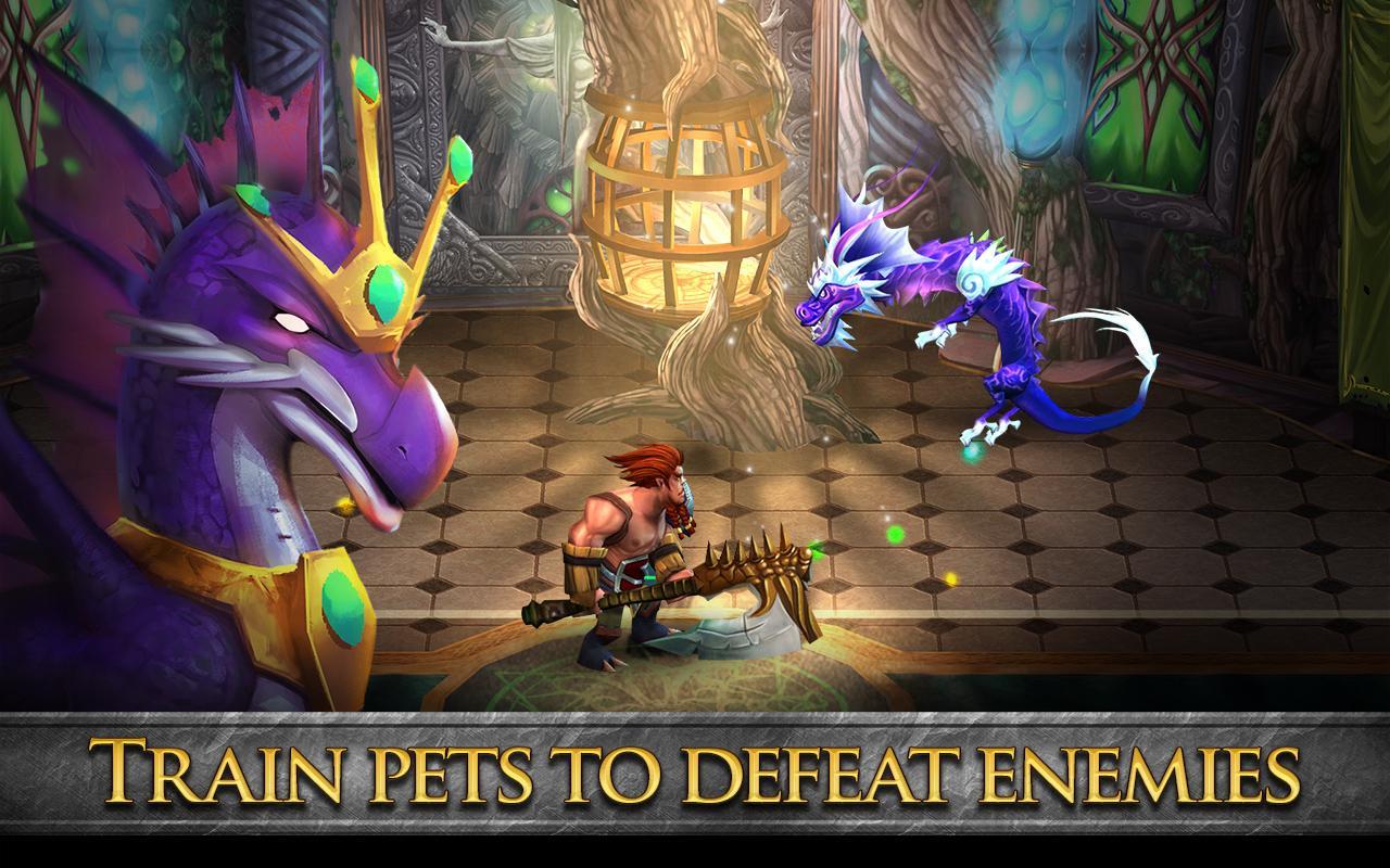Divine Might - 3D MMORPG - screenshot