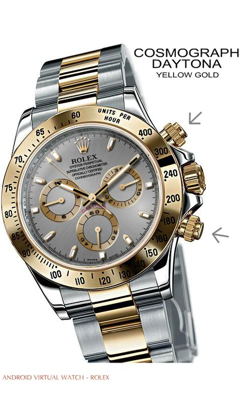 VIRTUAL ROLEX DAYTONA YG - screenshot