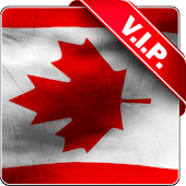 Canada flag live wallpaper
