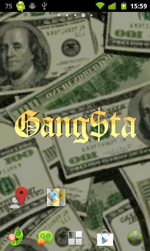 Gangsta Live Wallpapers- screenshot