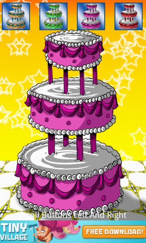 Birthday Cake Bash Designer- screenshot