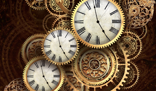 Gold Clock Live Wallpaper Hd Apps On Google Play