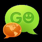 GO SMS Pro Spanish language pa