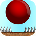 Crazy Red Bouncy Ball Spikes icon