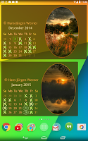 Screenshot of Picture Calendar 2015 / 2016