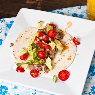 Brisket Breakfast Tacos
