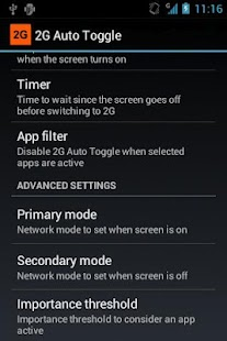 2G Auto Toggle (CyanogenMod) - screenshot thumbnail