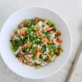 Thai Chicken Quinoa Bowl.