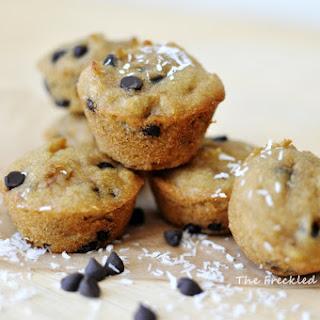 Coconut Chocolate Chip Mini Muffins (Grain, Gluten, Dairy, and Nut Free).
