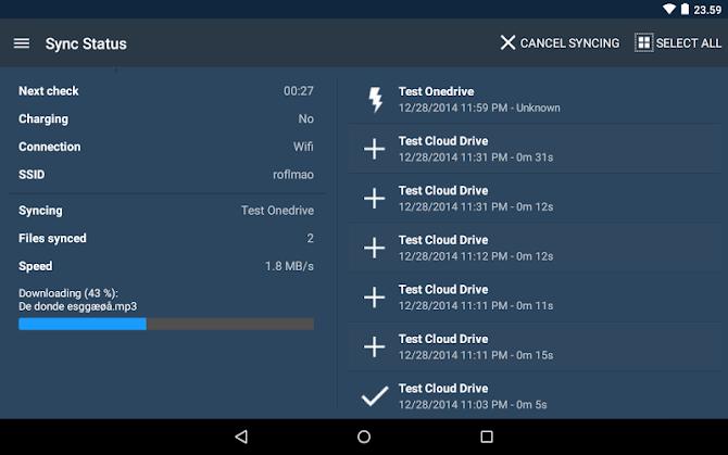 FolderSync Pro Android 22