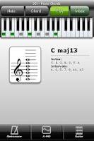 Screenshot of JCi Piano Chords LITE