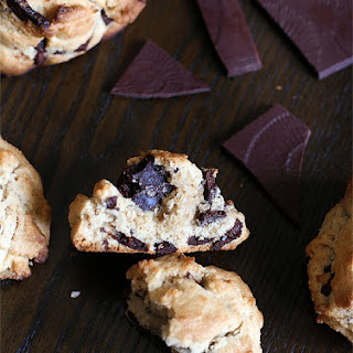 Dark Chocolate Chunk Cookies.