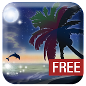 Galaxy Beach Wallpaper FREE
