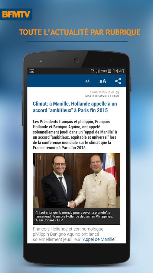 BFMTV : l'info en continu - screenshot