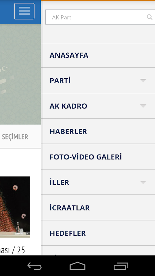 AK Parti- screenshot