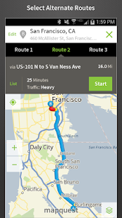 MapQuest: Maps GPS Traffic