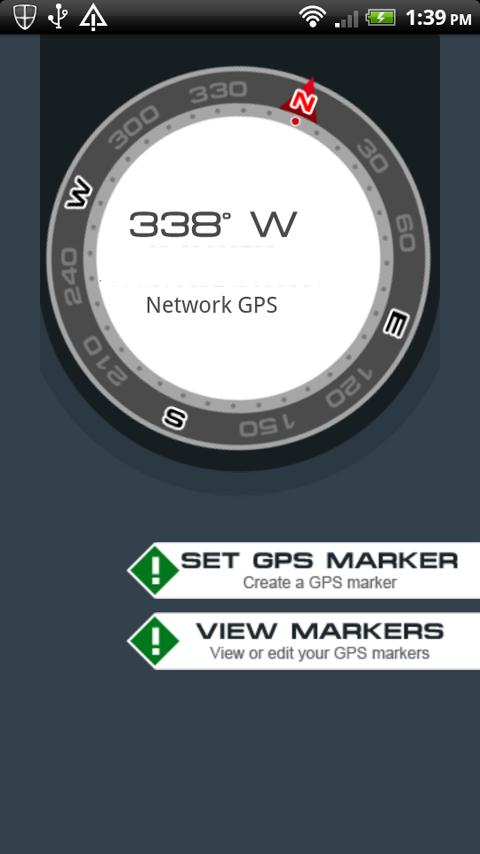 GPS Navigation Compass - screenshot
