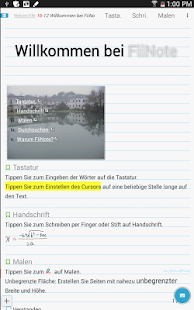 FiiNote-easy Notizen erstellen Screenshot