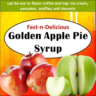 Golden Apple Pie Syrup