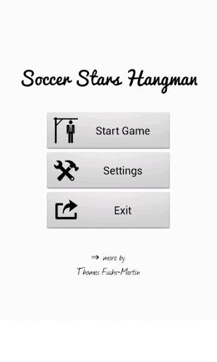 Soccer Stars Hangman Free