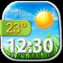 HD Clock Weather Widget icon