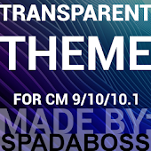 CM10/CM11 Transparent Theme
