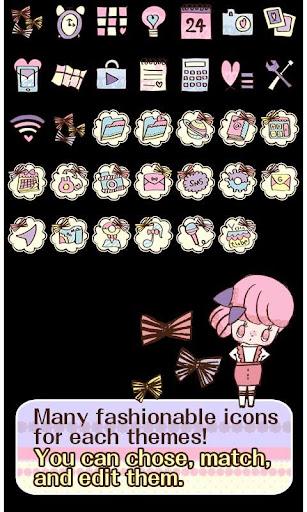 Cute Theme-Ribbon Girls- 1.0 Windows u7528 4