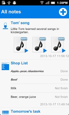 Quick Note - screenshot