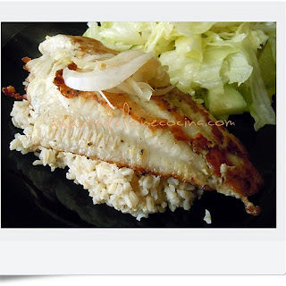 Fish with Garlic and Ginger.