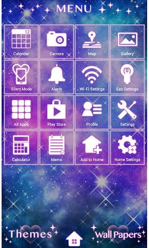 Cute Theme-Diamond Nebula- 1.0 Windows u7528 2
