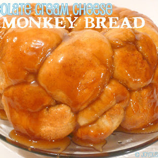 Chocolate Cream Cheese Monkey Bread