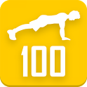 100 Pushups workout icon