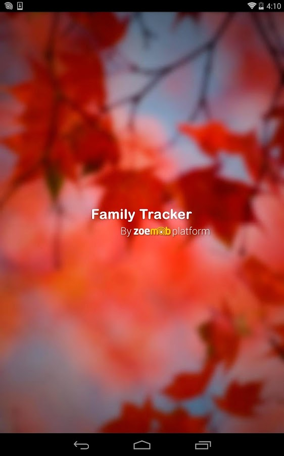 Family Mobile Tracker - screenshot