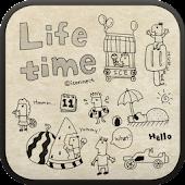 Life time go locker theme