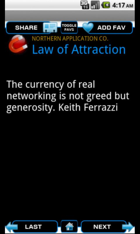 Law of Attraction -- Free - screenshot