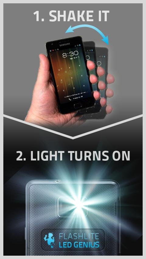 Flashlight LED Genius- screenshot
