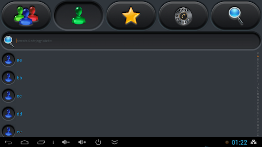 exDialer Carbon Color Theme v1.0.5