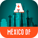 México D.F. guía mapa offline icon